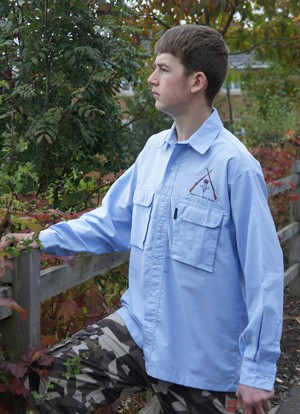 The Bushmaster Casual Oxford type Long sleeve Shirt
